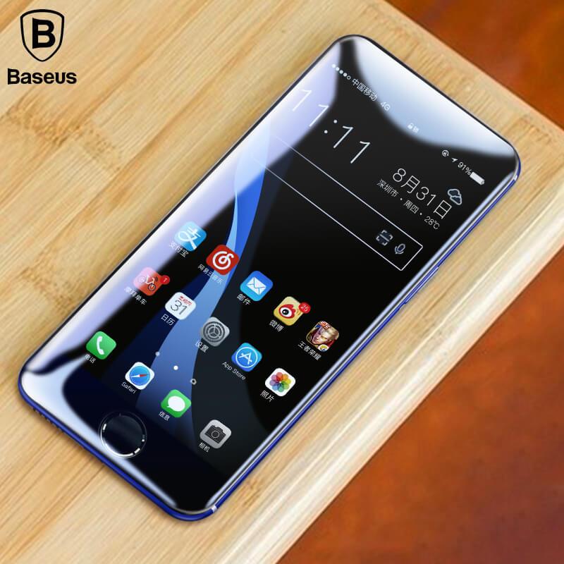 Baseus - ТОП 2 лучшее защитное стекло на iPhone 8 из рейтинга Gredy.ru