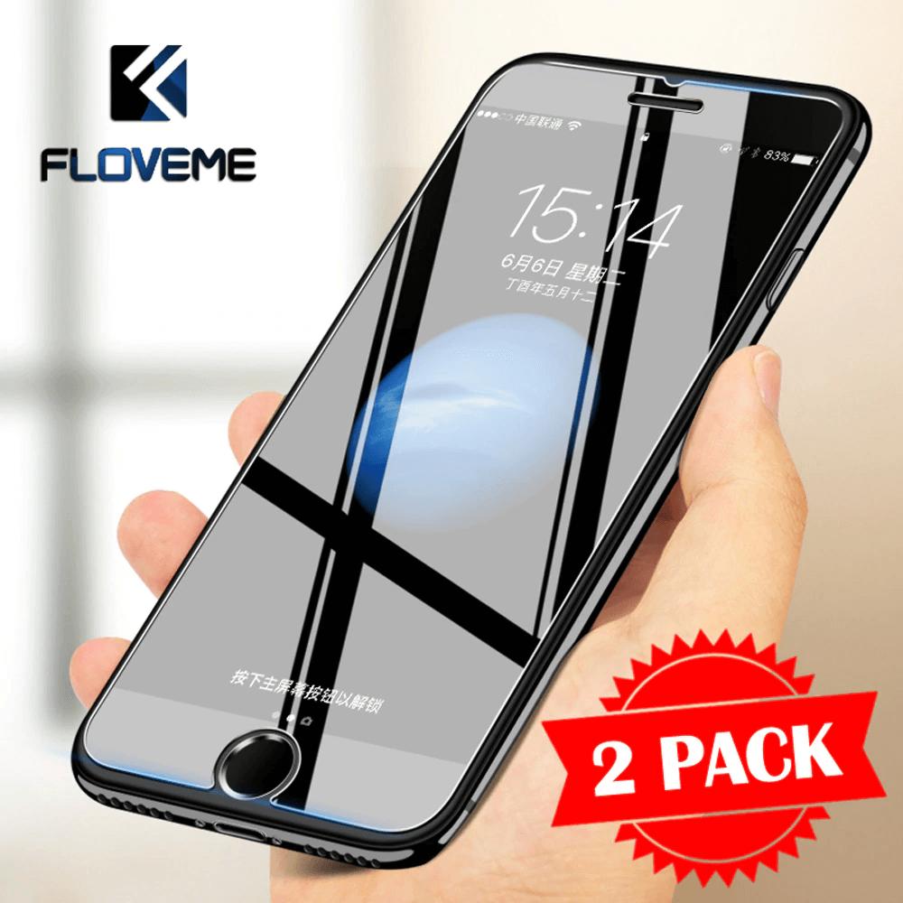 floveme - лучшее защитное стекло 2.D формы на iPhone 8
