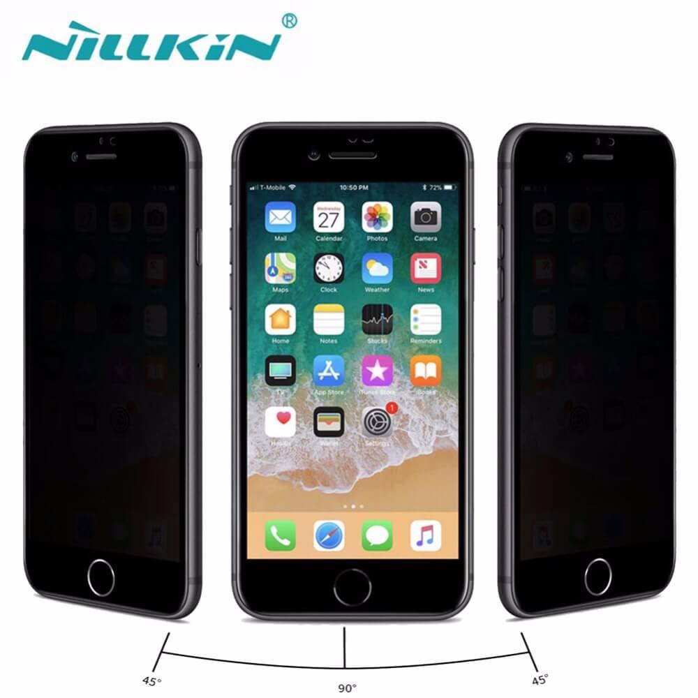 Nillkin - защитное стекло дисплея на iphone 8 с эффектом антишпион