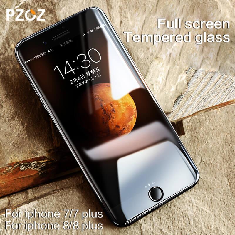 PZOZ - 3D защитное стекло на Айфон 7