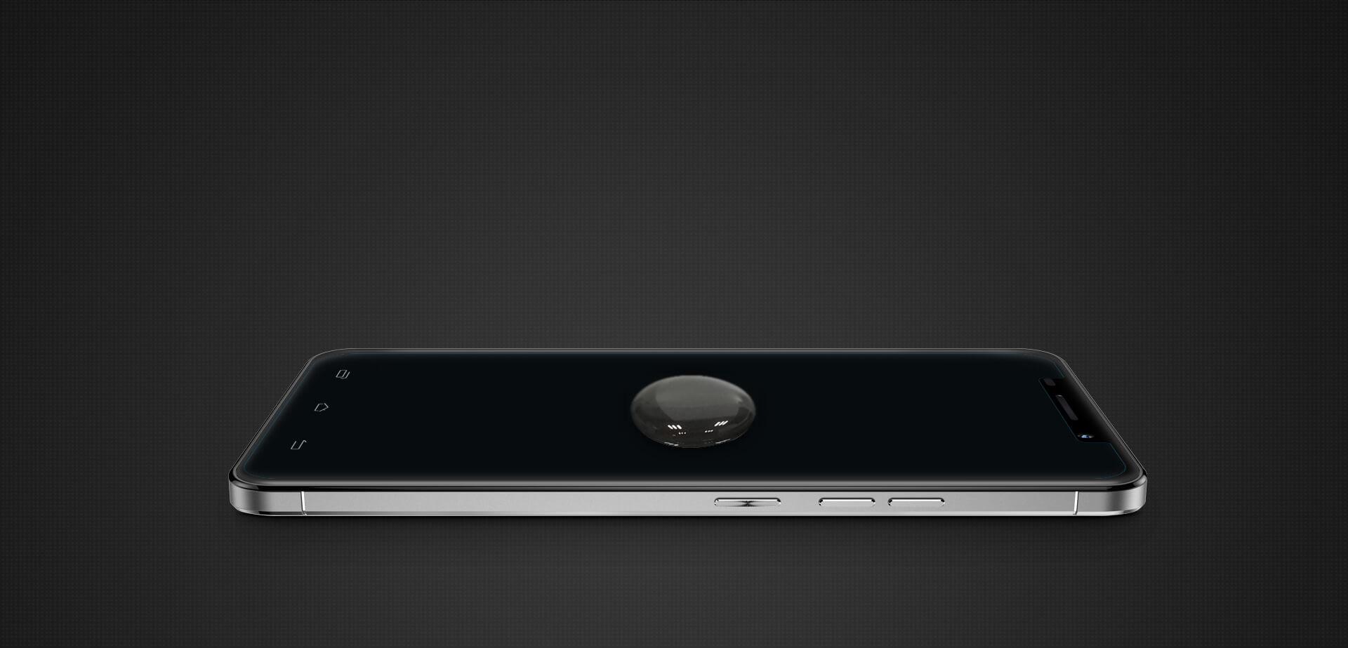 Олеофобное покрытие защитного стекла Galaxy S8