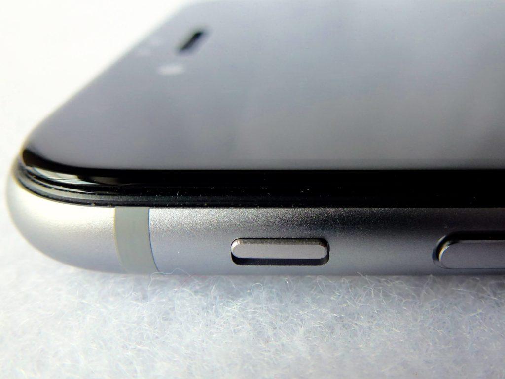 фото защитного стекла для айфон 6 вид с боку