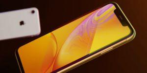 изображение защитного стекла для айфона XR